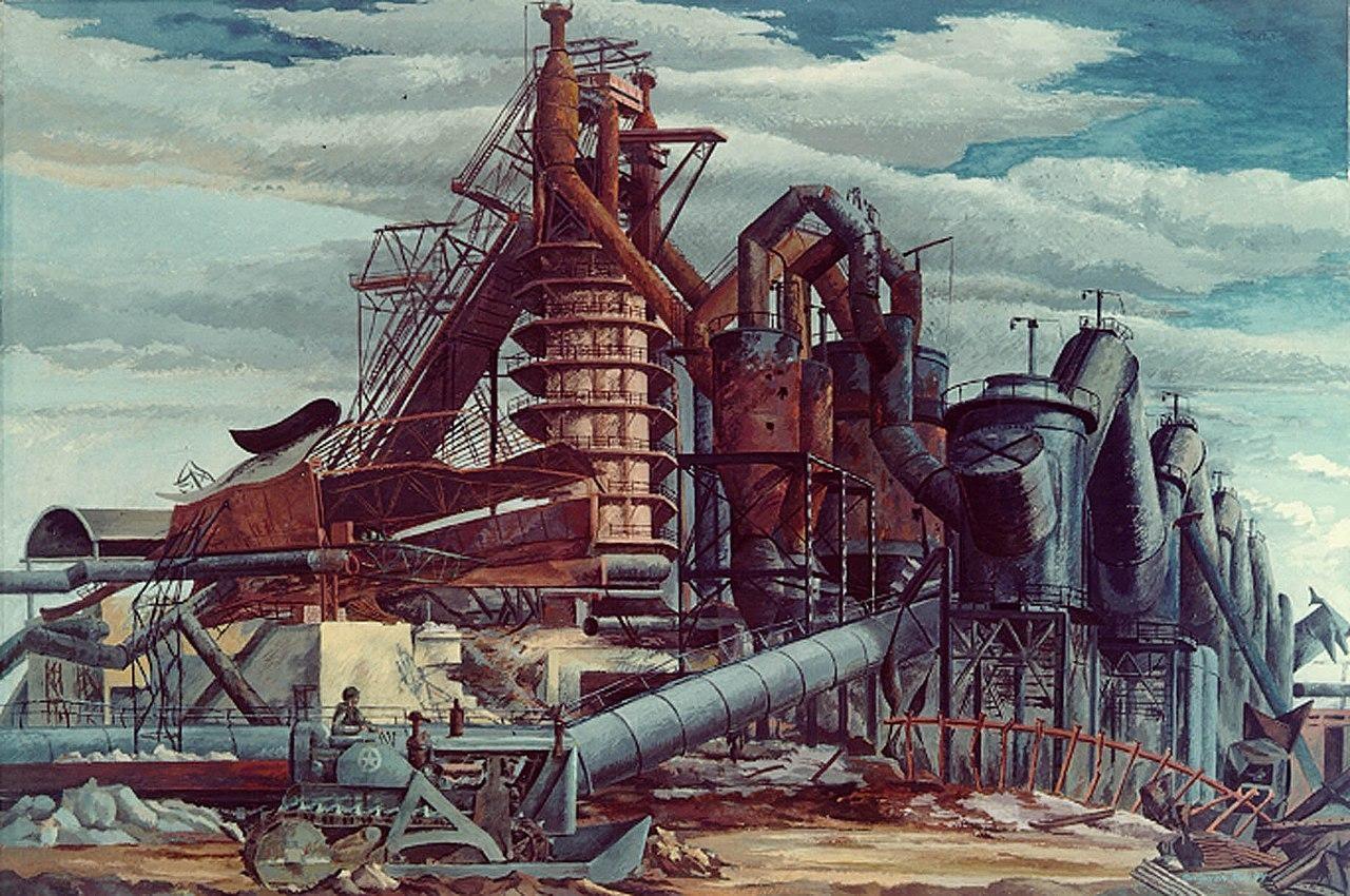 Fábrica em Piombino, Ludwig Mactarian (1944)