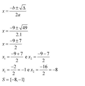 Fórmula de Bháskara - Ft 04