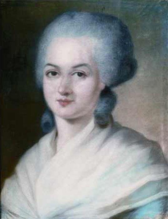 Retrato da ativista francesa Olympe de Gouge, guilhotinada na Revolução Francesa por lutar pelo direito das mulheres
